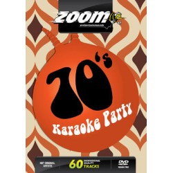Zoom Karaoke 70'S Karaoke Party (2 DVD's)