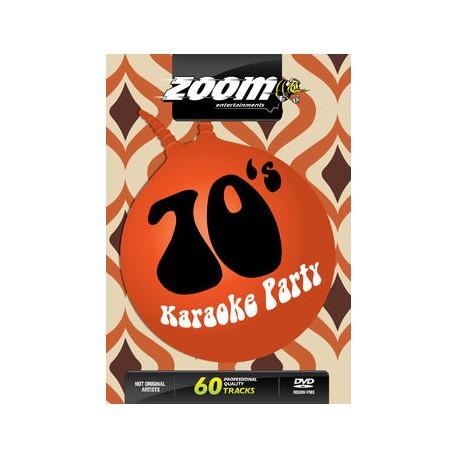 Zoom Karaoke 70'S Karaoke Party (2 DVD's)