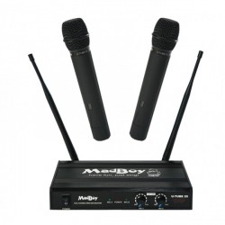 U-TUBE20 WIRELESS DUAL CHANNEL MICROPHONE SET