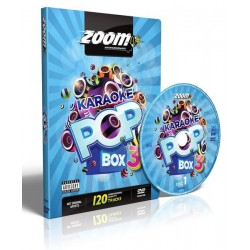 Zoom Karaoke Pop Box 3 (4 DVD's)
